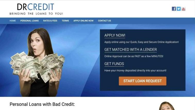 drcredit personal loans affiliate