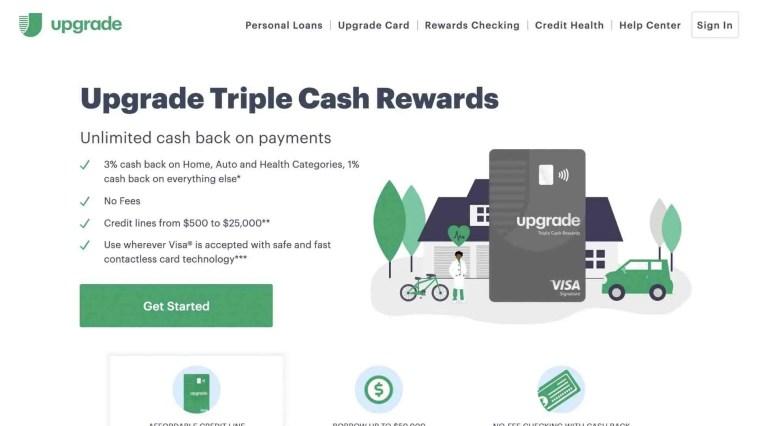 Upgrade Credit Card Affiliate Program