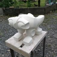 Drock,2016 Oamaru stone 300Hx450Lx300Dmm $1250