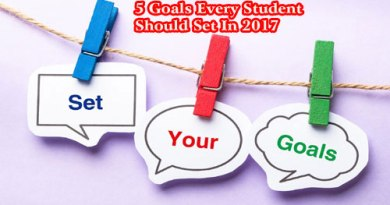 5 Goals Every Student Should Set In 2017!