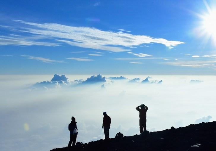 富士山・雲海
