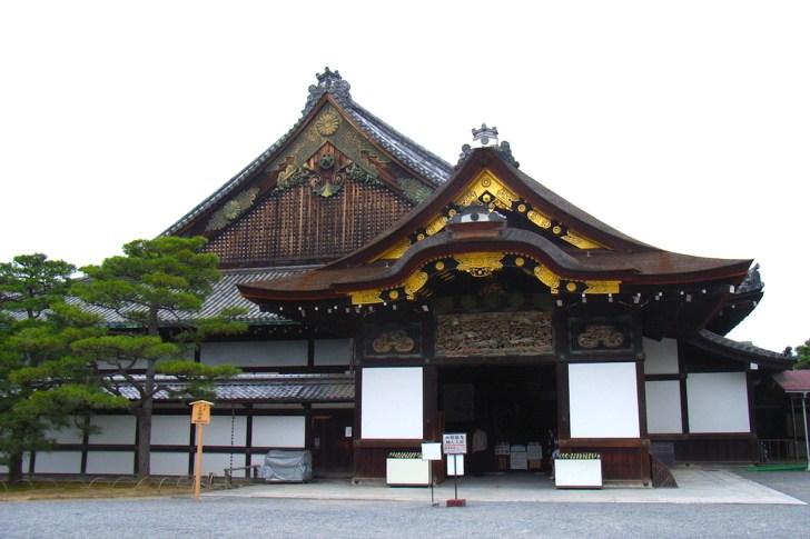 二の丸御殿の豪華な玄関