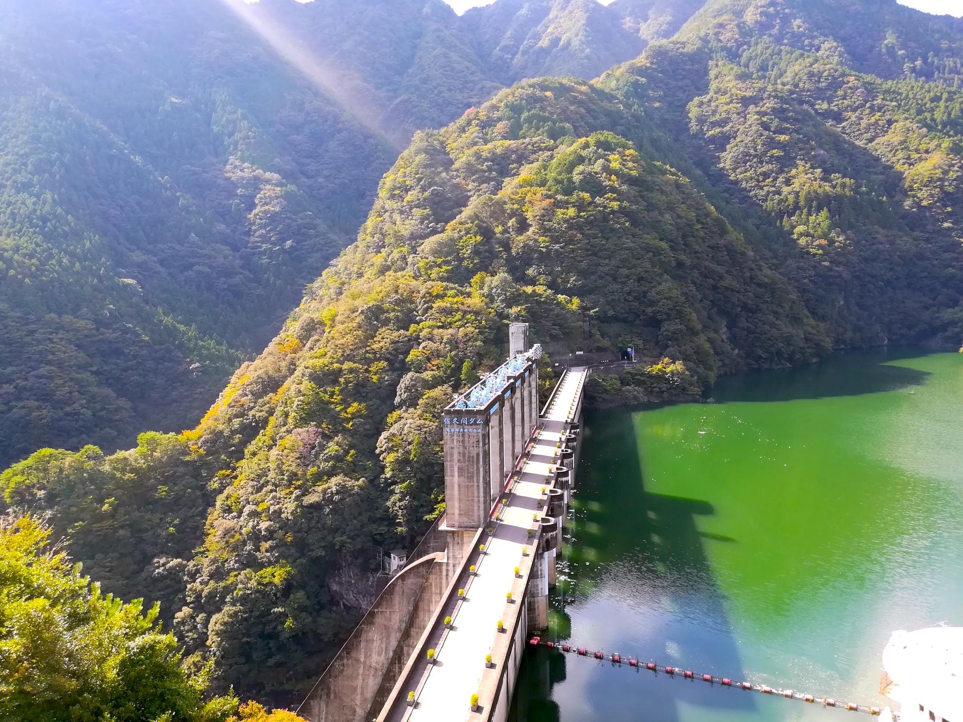 佐久間ダム(佐久間湖)