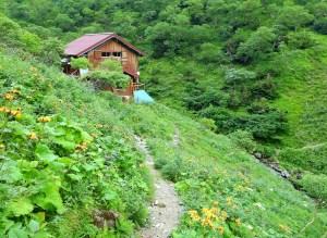 前岳(荒川岳)