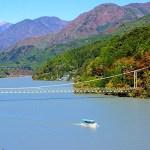 井川湖渡船