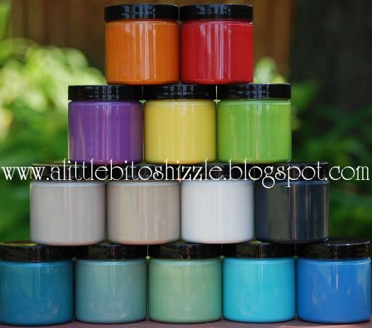 Shizzle Design offers sample size pots in all 36 beautiful colors of CeCe Caldwell's Paints available on our online Shizzle Shop as well in our Shizzle Design booth in Holland Michigan
