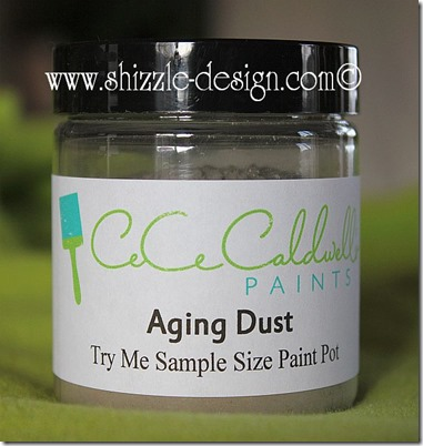 CeCe Caldwell's Aging Dust sample size pot Online Shizzle Shop Shizzle Design Grand Rapids Michigan