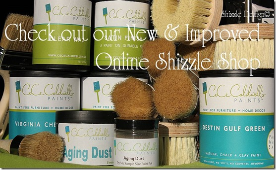 Online Shizzle Shop CeCe Caldwell's Paints wax aging dust brushes drill brush wax brush satin finish 7