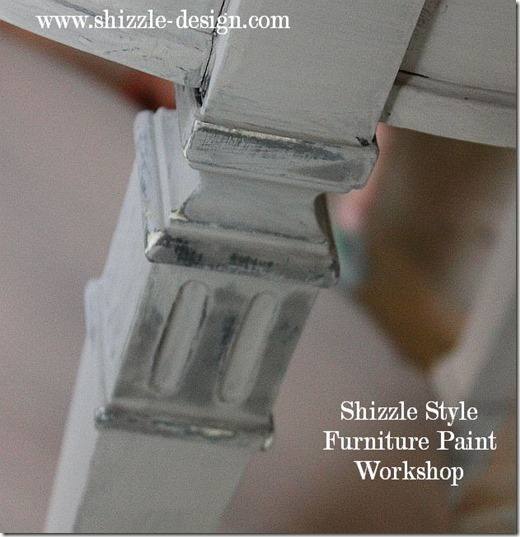 Shizzle Design Furniture Painting Workshop DURING Byron Center, michigan CeCe Caldwell's Chalk Clay Paints ideas colors tables chair night stands tips learn how to 5 18 13 16
