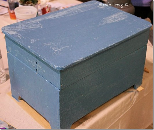 box painted at the LIvermore California workshop