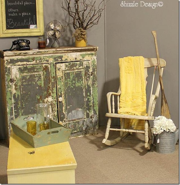Michigan Antiques and Collectibles Festival Midland Michigan Shizzle Design painted furniture Design Competition Room 5b