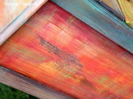 Patchwork #painteddresser Shizzle Design Grand Rapids, Michigan chalk clay paints #paintedfurniture best colors ideas #americanpaintcompany 10