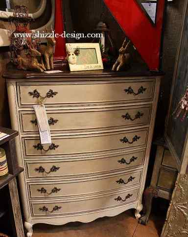 Shizzle Design Painted Furniture 2018 Chicago Drive Jenison Michigan 49428 Antique French Provencial Highboy