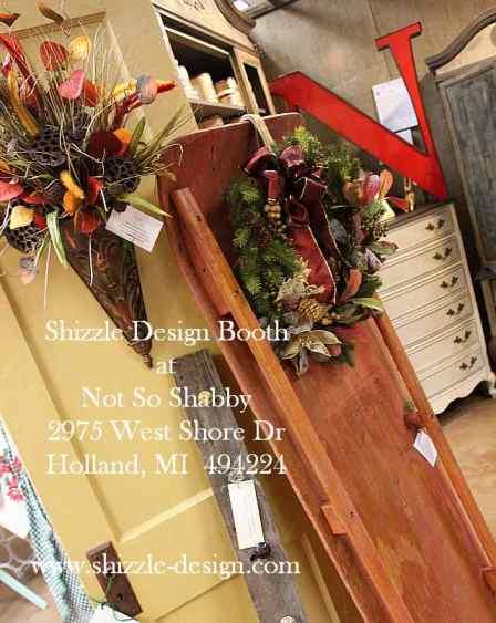 Shizzle Design Painted Furniture 2018 Chicago Drive Jenison Michigan 49428 Christmas Decor 2