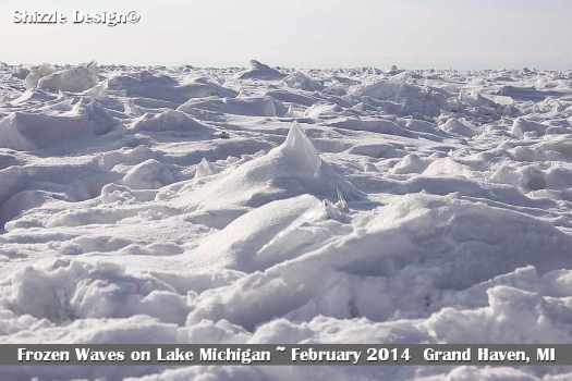 1 Grand Haven Michigan State Park Lake Michigan Ice February 2014  11