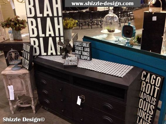 2014 West Michigan's Women's Expo Shizzle Design painted furniture American Paint company Paints 2018 Chicago Dr Jenison, MI  49428 DeVos Grand Rapids 8