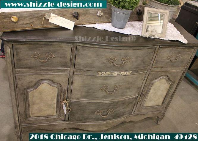 2014 West Michigan's Women's Expo Shizzle Design painted furniture American Paint company chalk clay mineral Paints 2018 Chicago Dr Jenison, MI  49428 DeVos Grand Rapids bufffet antique -  - Copy