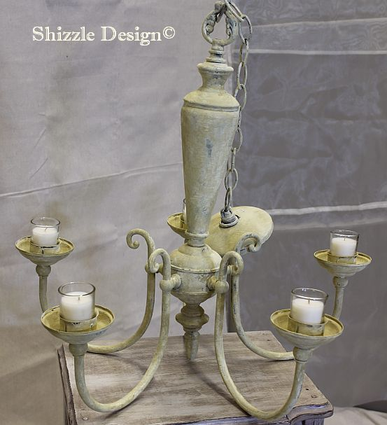 shizzle design candelier american paint company chalk clay paints chalk clay paint lighting ideas 2