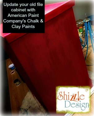 Learn how layer Chalk Paint colors DIY ideas inspiration Shizzle Design painted furniture makeovers workshops best class Grand Rapids Michigan American Paint Company red