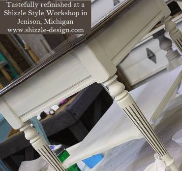 Learn how to layer colors chalk clay paints Shizzle Style furniture paint workshop Jenison MI American Paint Company Paints best ideas 5