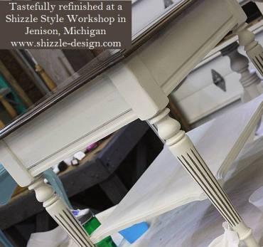 Learn how to layer colors chalk clay paints Shizzle Style furniture paint workshop Jenison MI American Paint Company Paints best ideas 5