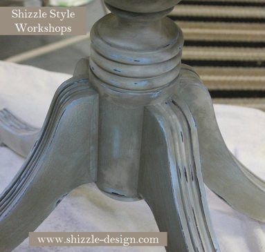 Learn how to layer colors chalk clay paints Shizzle Style furniture paint workshop Jenison Michigan American Paint Company Paints best ideas 10