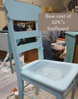 Learn how to layer colors chalk clay paints Shizzle Style furniture paint workshop Jenison Michigan American Paint Company Paints best ideas 9