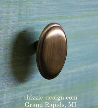 Oval drawer pull 3