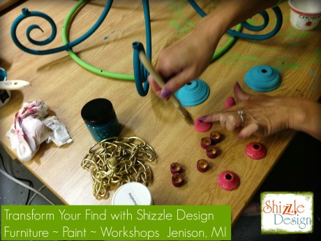 chalk clay paint colors DIY ideas inspiration Shizzle Design painted furniture makeovers workshops best class Jenison Michigan a