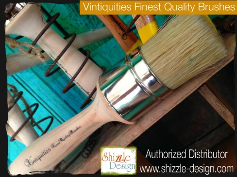 Finest Quality Wax Brushes from Vintiquities ~ Available at Shizzle Design