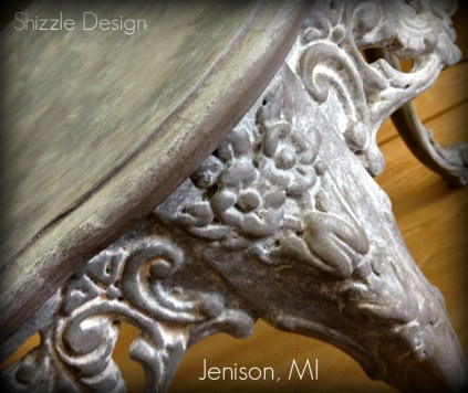 American Paint Company Shizzle Design chalk clay painted furniture table Sackcloth Cameo ideas 1