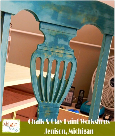 Learn how layer chalk clay paint colors DIY ideas inspiration Shizzle Design painted furniture makeovers workshops best class J