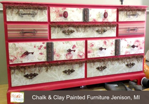 how to apply fabric to drawer fronts furniture rose floral stripes shizzle design painted furniture shizzle deesign 2