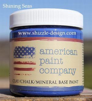 Shining Seas Sample Size Pot Shizzle Design Online Shop American Paint Company Paints blue colors ideas chalk clay paints furniture