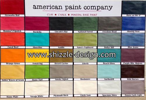 0 american paint company shizzle design colors chalk paint