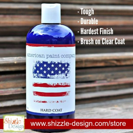 American Paint Company's Retailer where to buy Hardcoat Shizzle Design 2018 Chicago Drive Jenison MI 49428 www.shizzle-design.com 1
