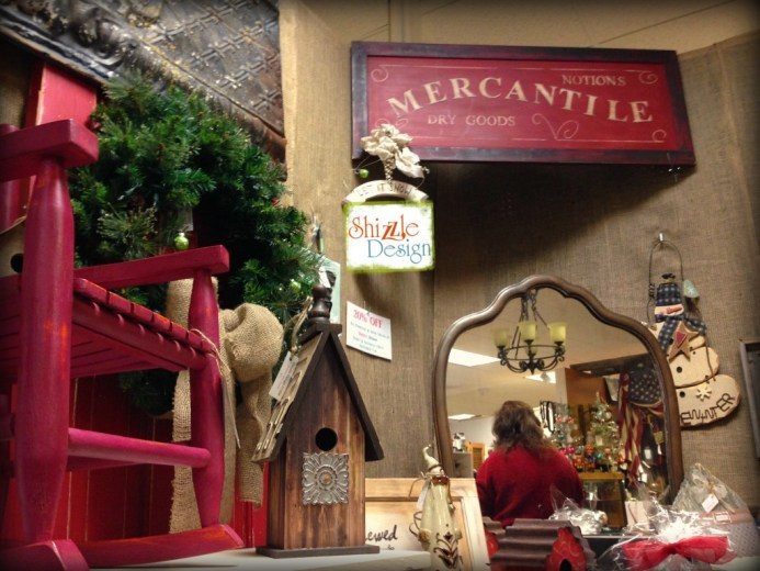 Not So Shabby's Christmas Open House 2014 Shizzle Design Chalk painted furniture American Paint Company Retailer 1