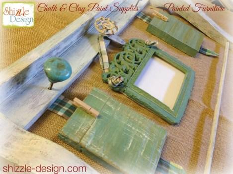 painted picture frame barn wood re-purpose flea market flips Shizzle Design Chalk Paint 1