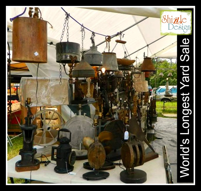 worlds longest yard sale route 127 shizzle design best flea markets vendors