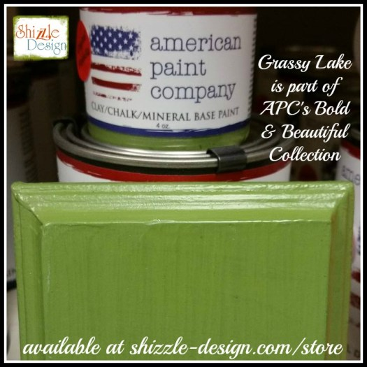 Bold Beautiful Collection by American Paint Company Chalk Clay Paint Shizzle Design retailer Grand Rapids Michigan - Grassy Lake green