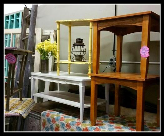 end tables ladder