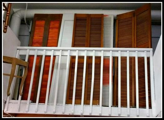 louvered bi-foldl pantry closet shutter doors wood white