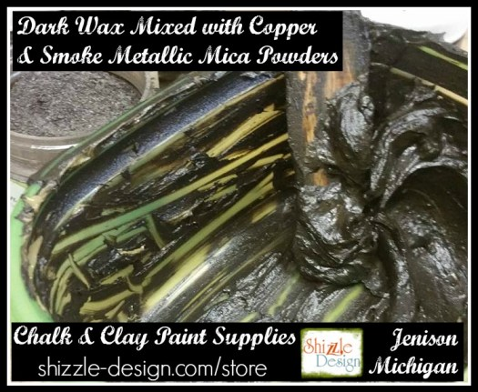 where to buy bronze copper gold silver pewter smoke metallic mica powders shizzle design grand rapids michigan