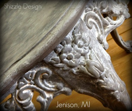 1 American Paint Company Shizzle Design chalk clay painted furniture table Sackcloth Cameo ideas 2