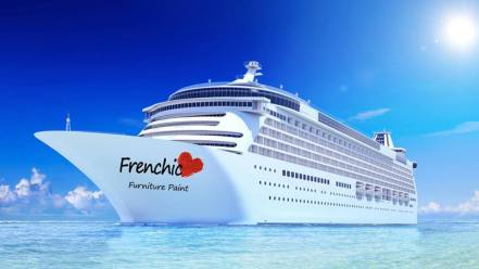 Frenchic Furniture Paint - Cruise Ship - Best paint in the world