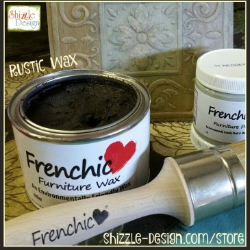 Frenchic Furniture Wax - Rustic - Dark Wax - ecwid chalk mineral paint - sealed with paint sealed with clear, white rustic dark wax paint recipes easy Shizzle Design where to buy