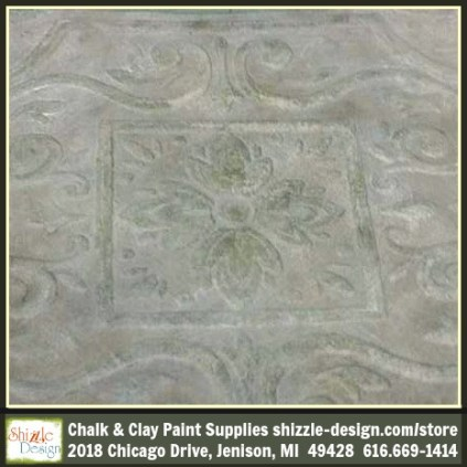 Frenchic Furniture Paint -Posh Nelly - taupe, dark rustic wax, white wax, clay mineral chalk paint, easy to use Shizzle Design, how to layer paint colors, how to wax