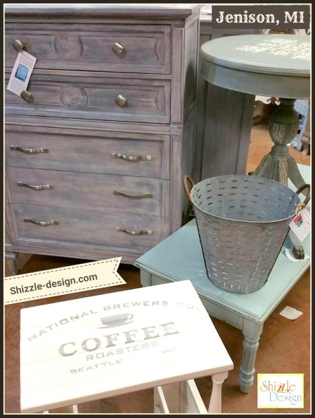 Restoration Hardware painted dresser white wash finish chalk paint shizzle design grand rapids michigan where buy chalk paint