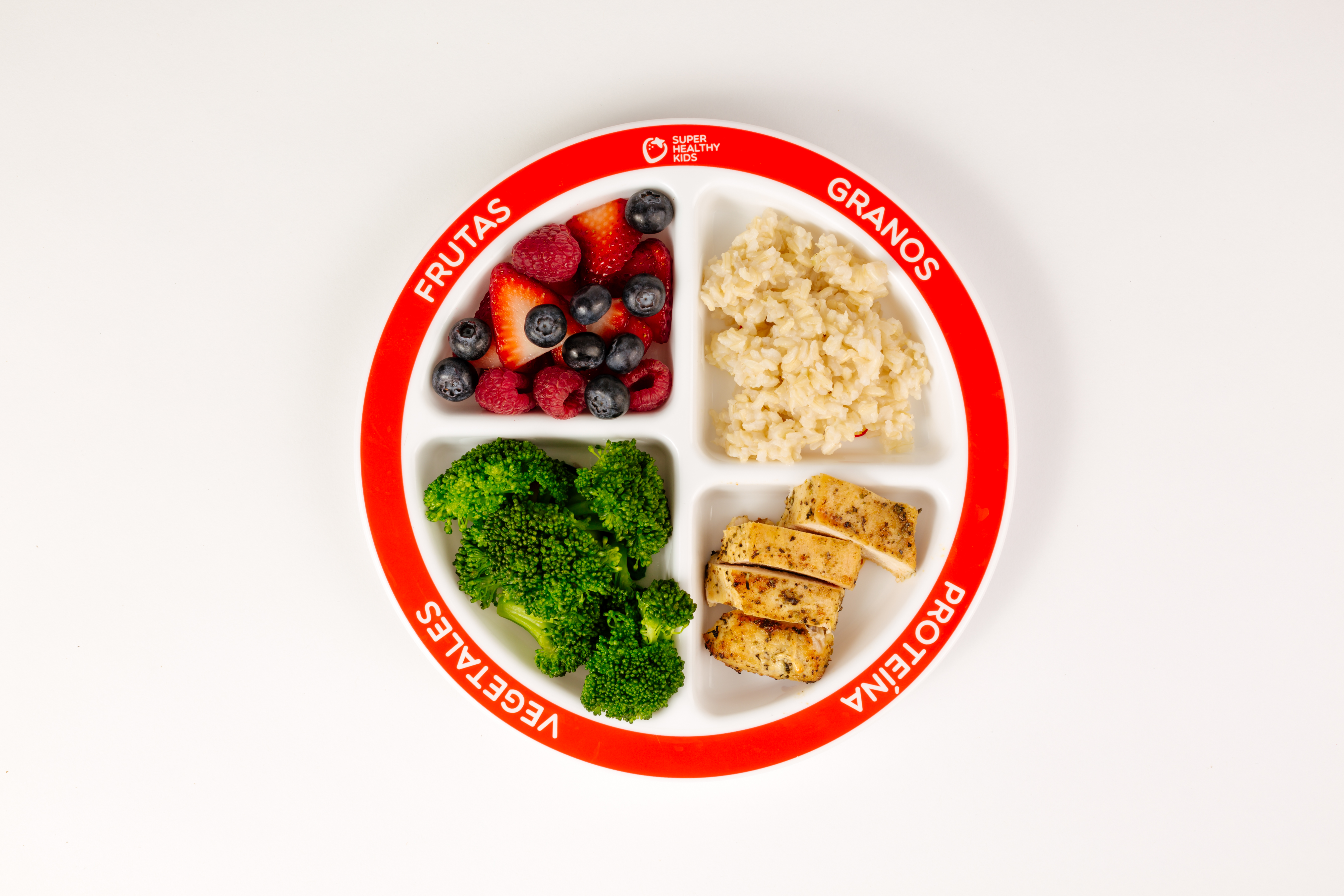 Kids Myplate Section Plate