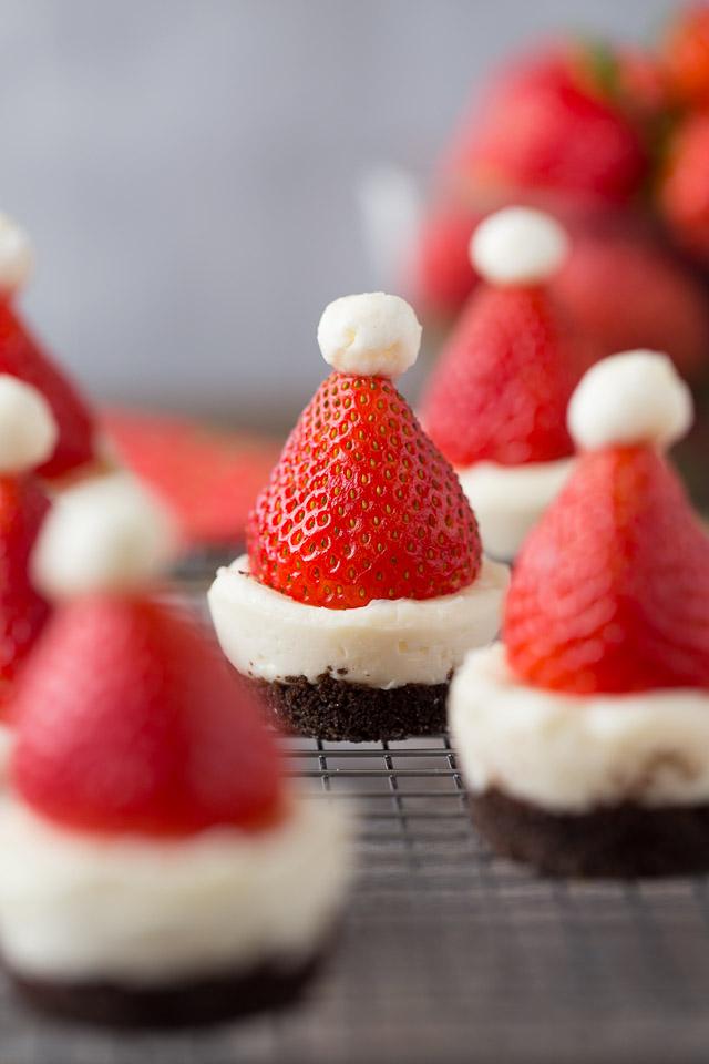 Mini No Bake Santa Cheesecakes Healthy Ideas For Kids